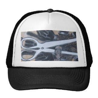 Expressive cutting out the crap trucker hat