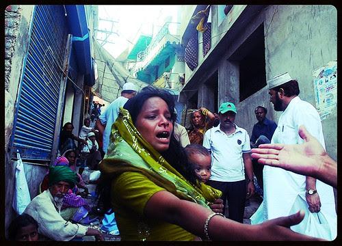 Street Fighting  Beggar Women of Ajmer by firoze shakir photographerno1