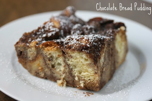 Food Librarian - Chocolate Bread Pudding