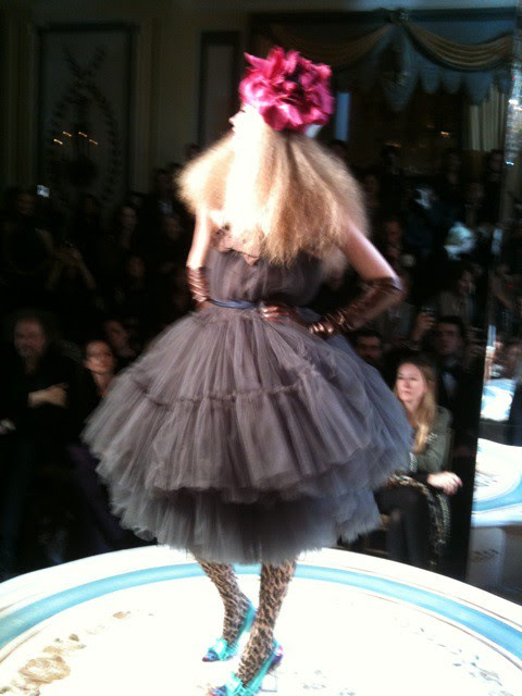 06 An exclusive haute couture dress made just for tonight's Lanvin for H&M show
