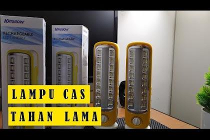 Review Lampu Emergency Tahan Lama Krisbow
