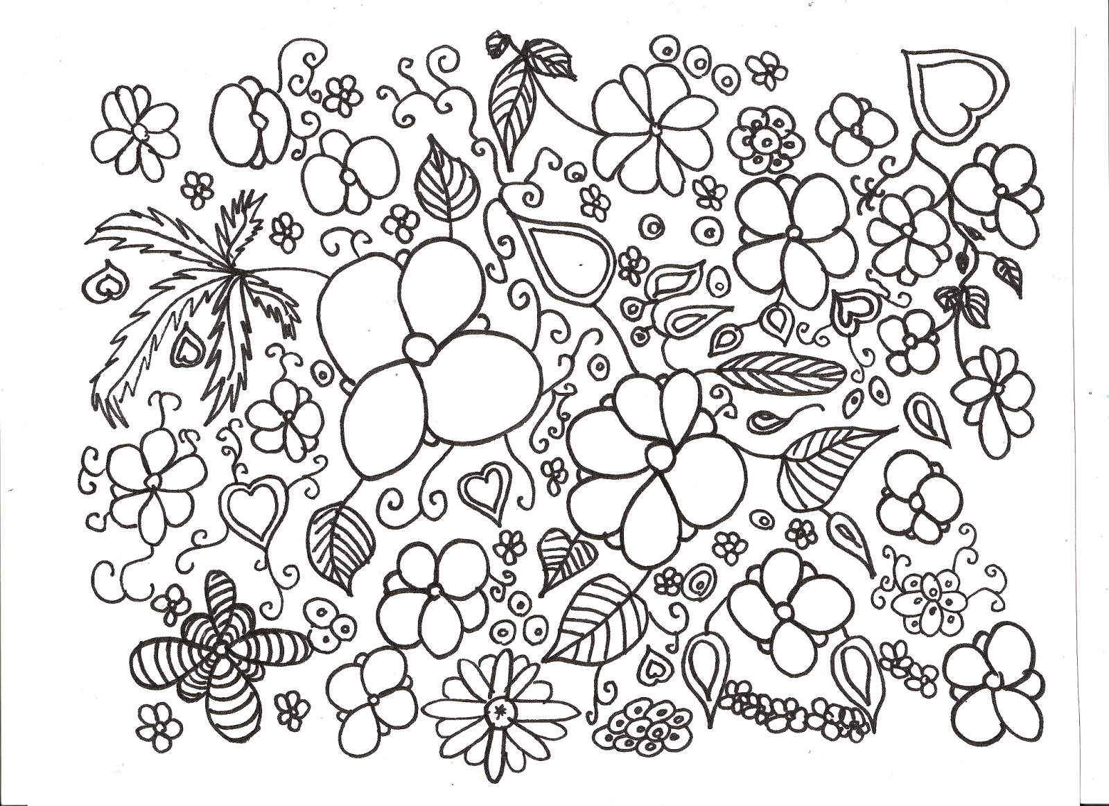 Coloriage Nature Enfants La Nature En Coloriage