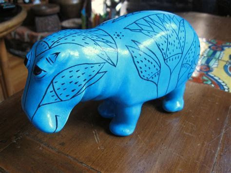 MMA BLUE HIPPO WILLIAM HIPPOPOTAMUS Egyptian Reproduction