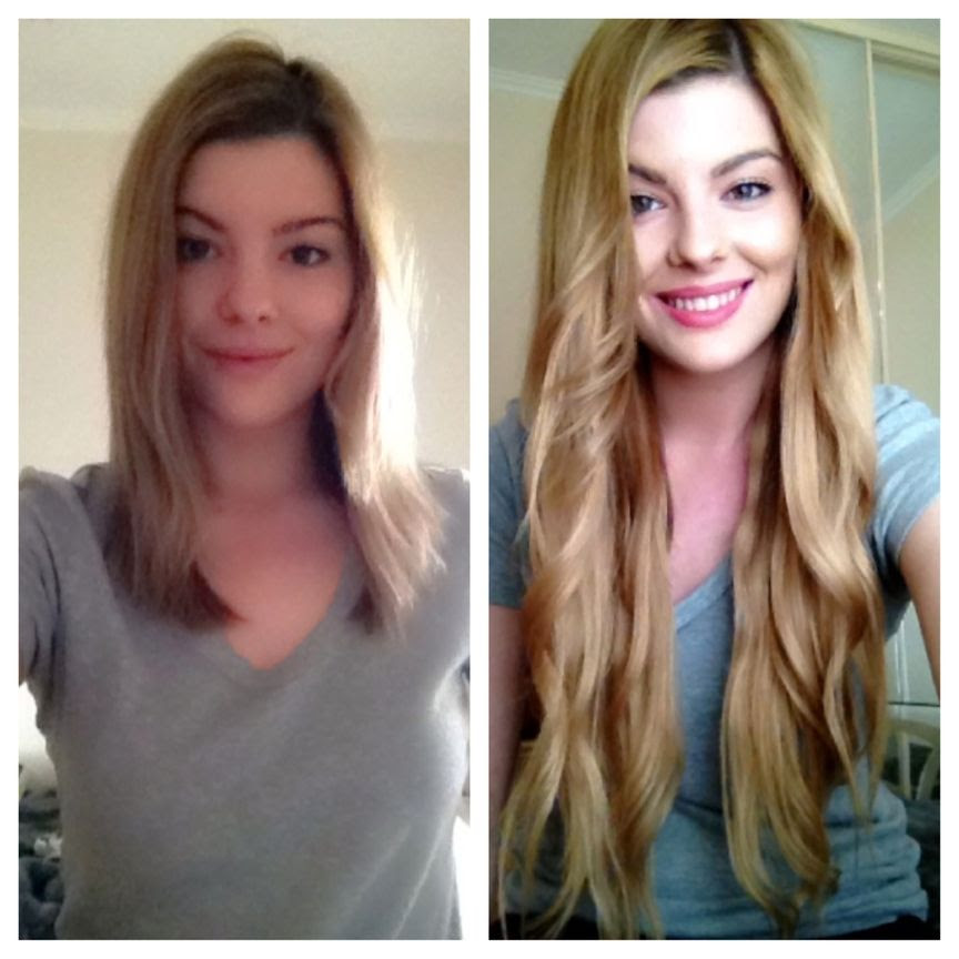 New Zala Hair Extensions Before And After