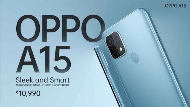 AI ट्रिपल कैमरा वाला Oppo A15 बजट फोन भारत में हुआ लॉन्च, Xiaomi ने भी पेश की Mi 10T सीरीज