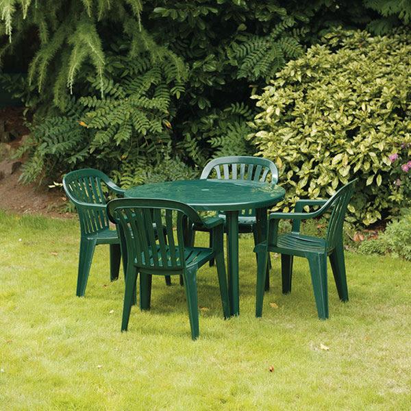 Green Patio Table