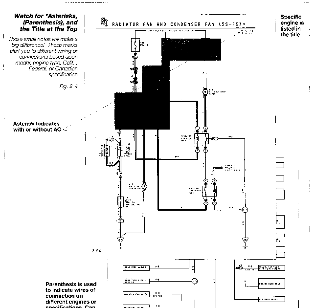 Toyota Tercel Alternator Wiring Diagram