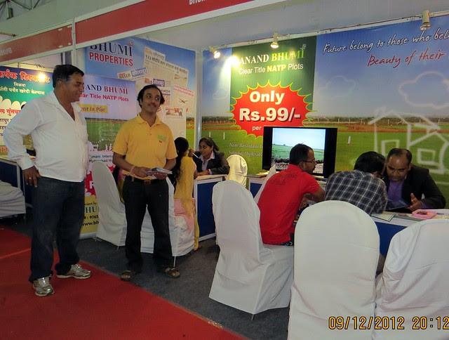 Pune Property Exhibition - Sakal Vastu - Property Expo - December 2012 - 27