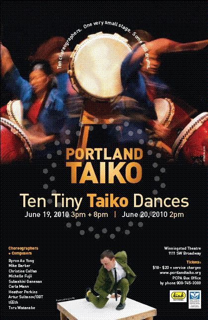 Ten Tiny Taiko Dances poster