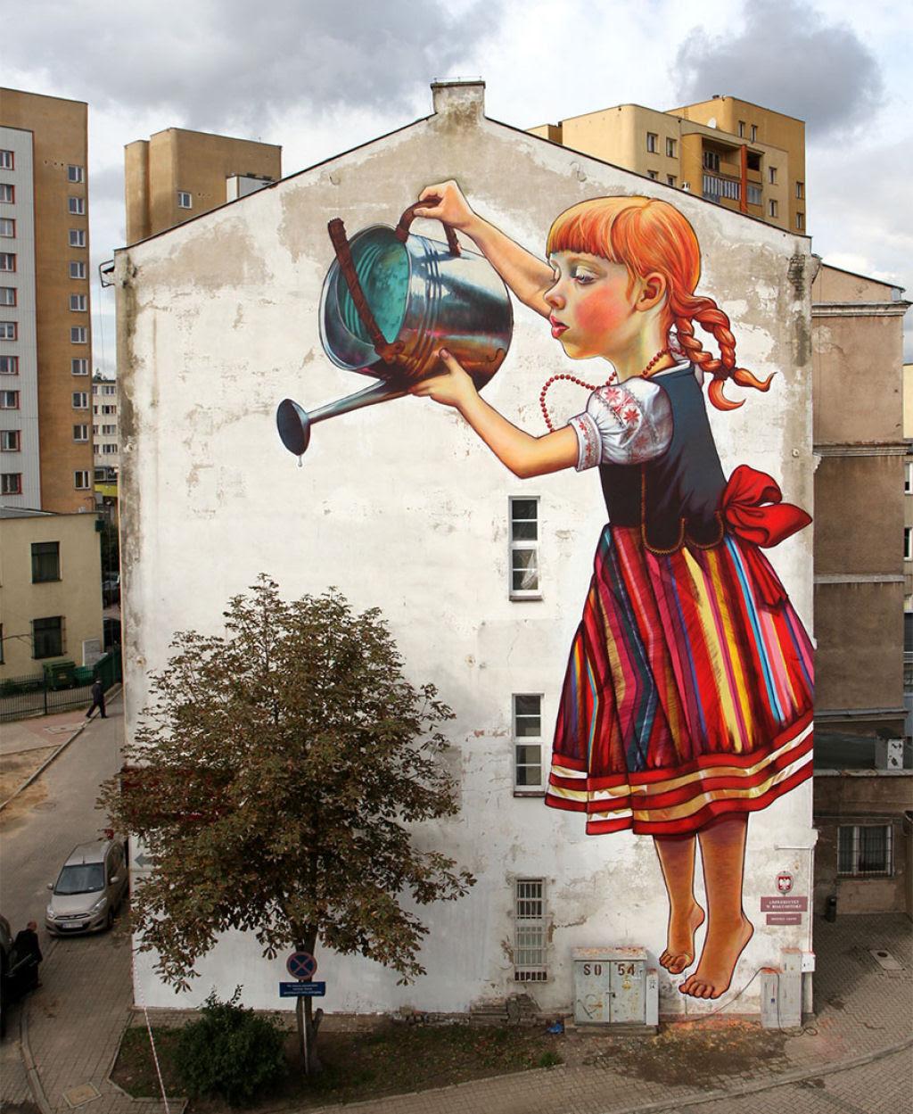 24 eloquentes obras de arte urbana mostrando a desagradável verdade 04