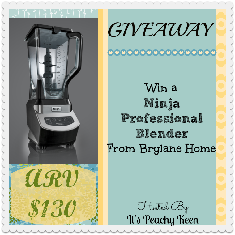 Enter the Ninja Blender Giveaway. Ends 1/19
