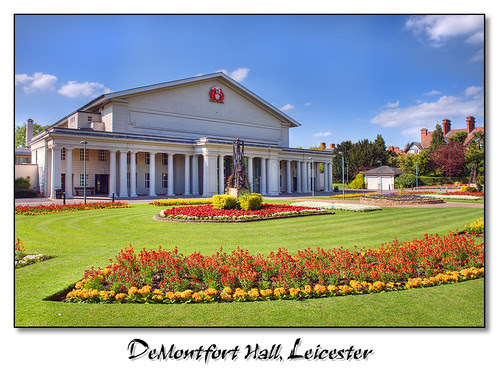 DeMontfort Hall, Leicester