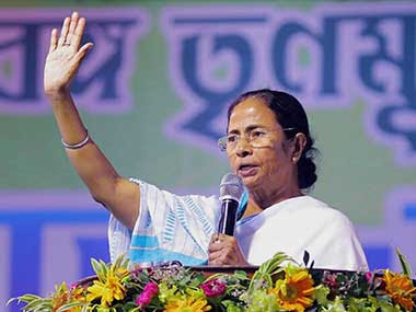 File image of TMC chief Mamata Banerjee. PTI