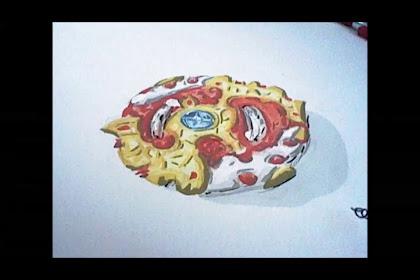 Coloriage De Toupie Beyblade Burst Turbo
