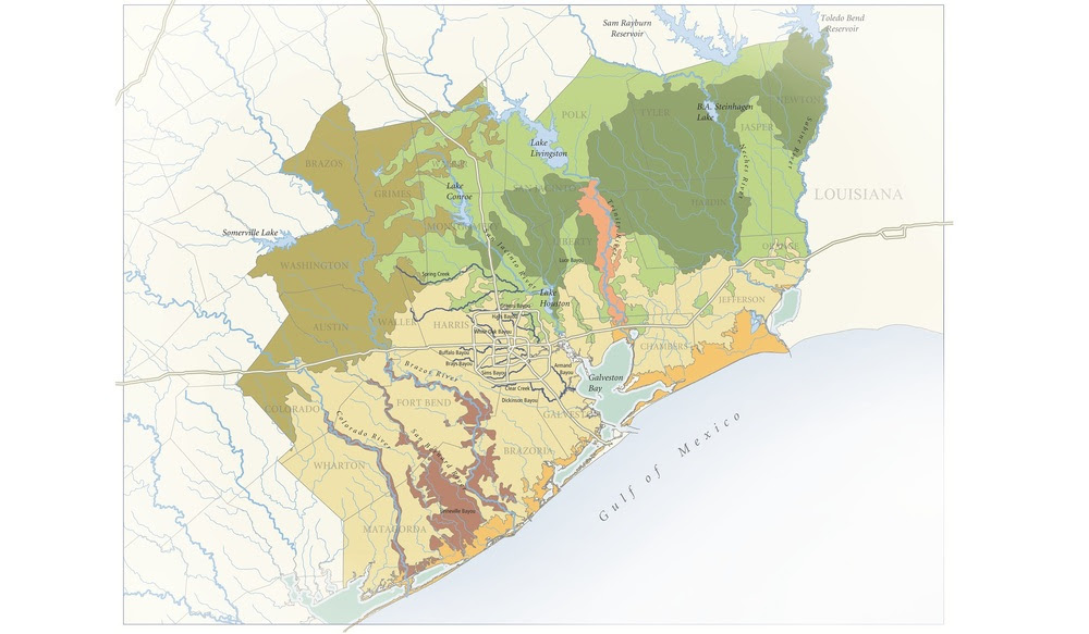 Houston's Ten Ecoregions