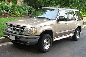 1995-1998 Ford Explorer photographed in USA. C...