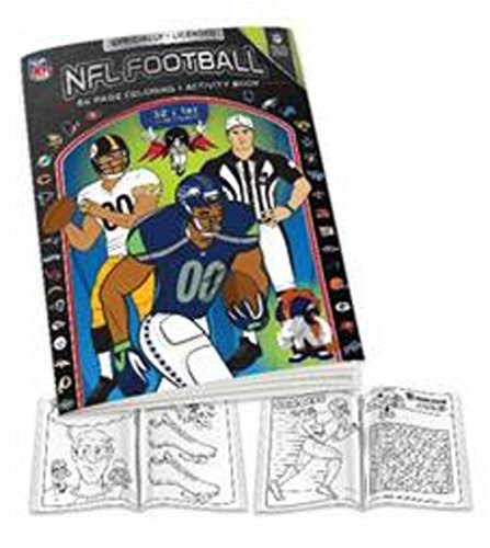 NFL Coloring Books For Young Sports Fans  Shopswell