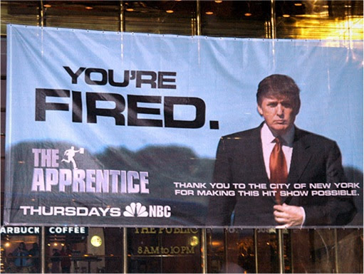 Donald Trump - The Apprentice - You're Fired