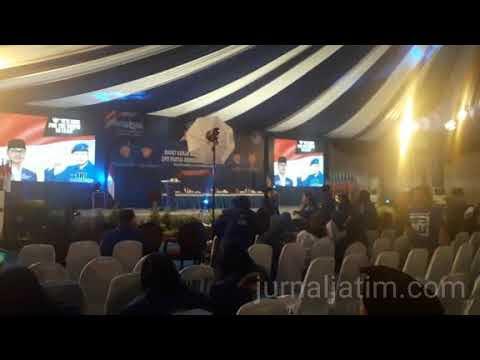 Suasana Jelang Pembukaan Rakerda Demokrat Jatim di Tulungagung (Video)