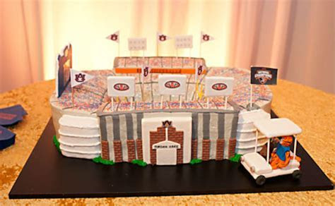 15 clever Auburn themed wedding cakes for grooms   AL.com