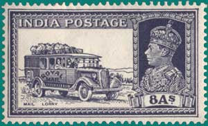 SG # 257, 1936, Mail Lorry