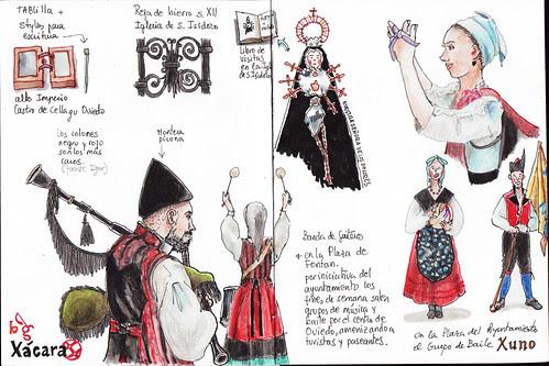 Nuestra Señora de los Dolores y grupos musicales y de baile