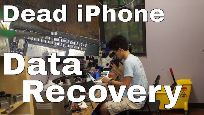 iPhone data recovery from dead logic board YouTube