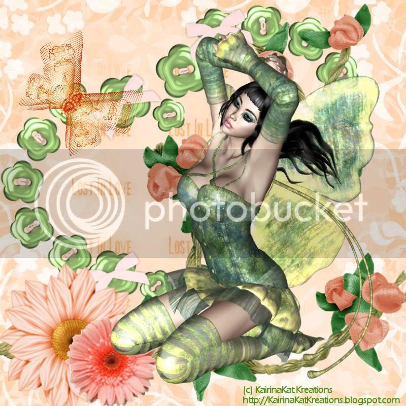 Pauline in Green