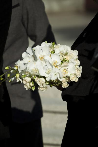 Detalhe do bouquet de Carol Trentini