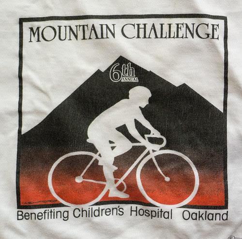 Diablo Challenge shirt 6th annual 1986