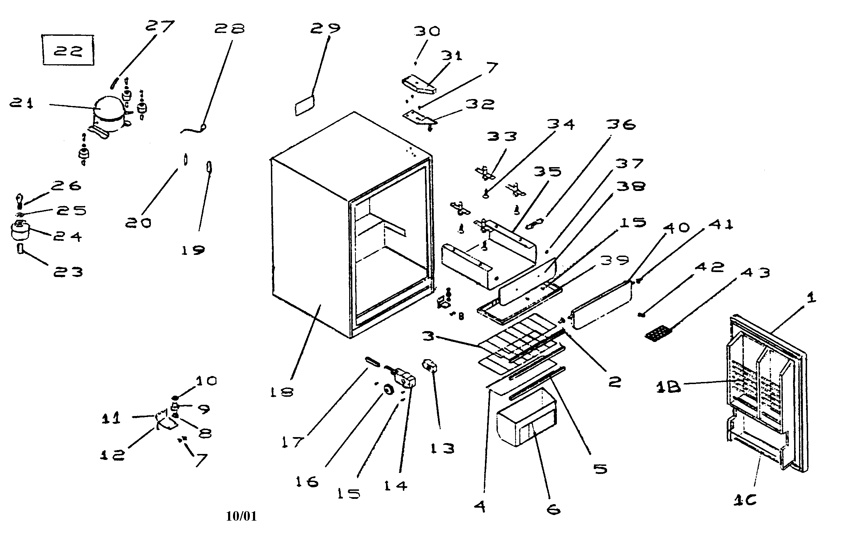 33 Haier Refrigerator Parts Diagram
