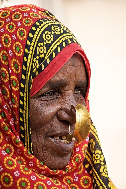 Bilen woman. Eritrea
