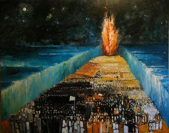 和平教會樂活讀經: 天使和雲柱