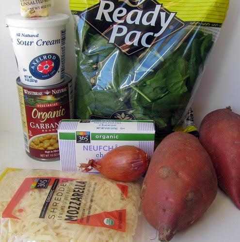 Stuffed Sweet Potatoes Ingredients