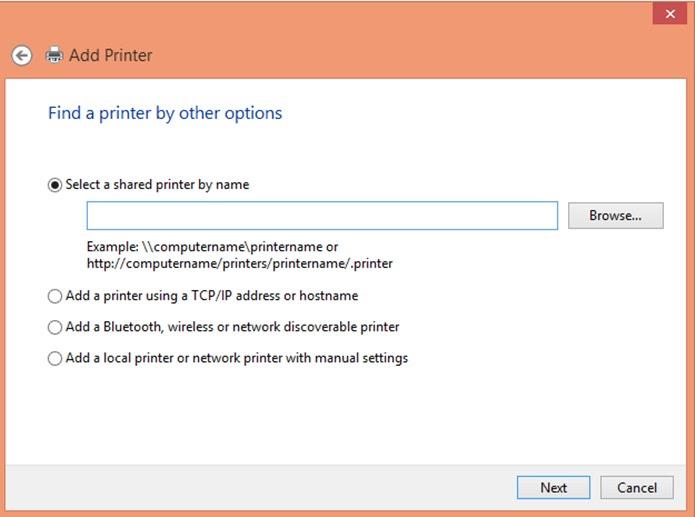 Procure manualmente a impressora no computador (Foto: Reprodução/Carolina Ribeiro)