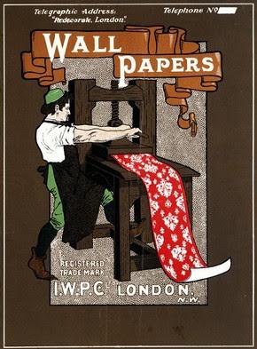 Advertisement for I.W.P.C Ltd, Bemrose & Sons Ltd, 1890-1910. Museum no. E.1007-1919