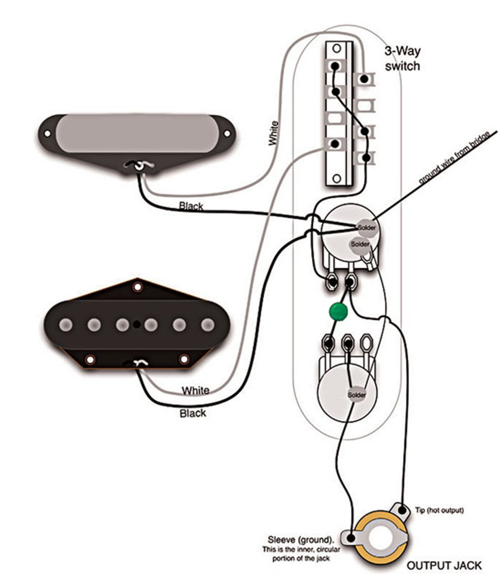 Easy To Read 50s Wiring Diagrams Wiring Made Simple My Les Paul Forum