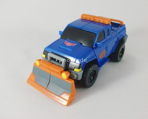 Transformers Sentinel Prime Animated Deluxe - modo alterno