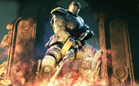 awesome  game wallpapers gears  war downloads