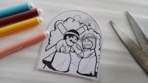 La Via Crucis Per Bambini Da Stampare Mogli Mamme Per Vocazione