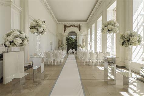 Civil ceremony in Kensington Palace's Orangery www