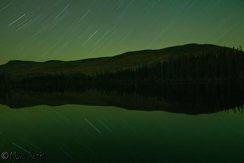 Aurore Boréale + Étoiles et reflet