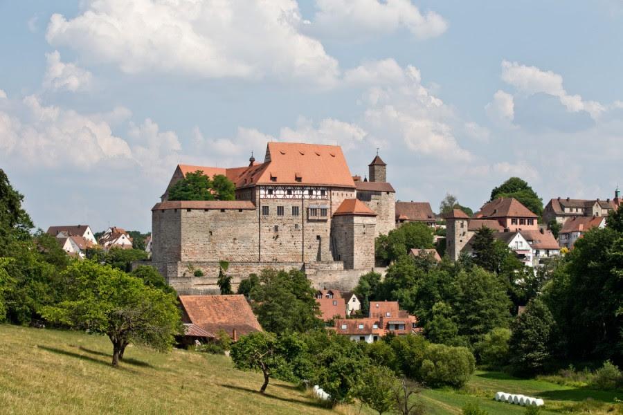 Burg in Cadolzburg bei Fürth