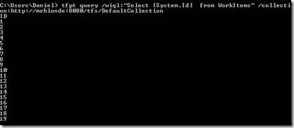 Undokumentierten Parameter /collection nicht vergessen - und schon geht's!