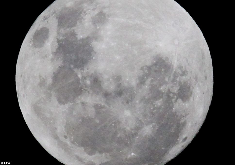 Star gazing: The phenomenon is known as a perigee full moon but astronomers warn the 'relatively uncommon' celestial event may not amount to much