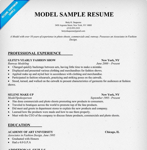 25 Awesome Good Resume Models Best Resume Examples