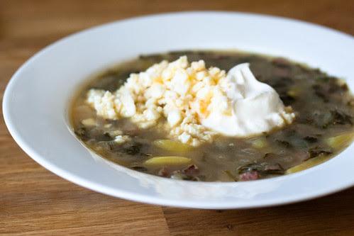 Oblikasupp / sorrel soup