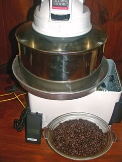Eblog Cafe Amateur Home Coffee Roasting Home Built