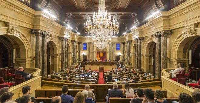 Parlament de Catalunya. FOTO: EUROPA PRESS
