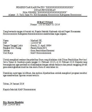 21+ Contoh surat dinas ekstrakurikuler terbaru terbaru